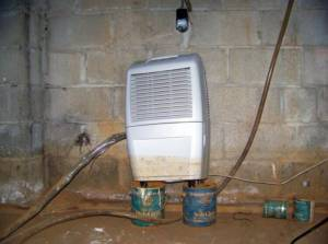 Crawl space dehumidifier and function