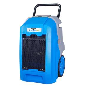Commercial Portable Refrigerant Dehumidifiers for Water Damage Restoration Carpet Cleaning and Building Dryer 70 Pint