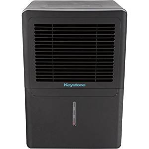 Keystone 70 Pint Dehumidifier -Top Rated Unit For High Humidity Removal